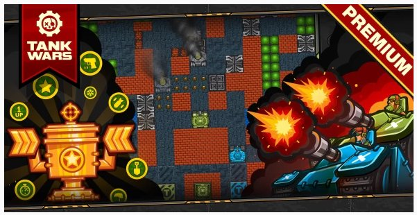 Tank Wars - HTML5 Game 120 Levels