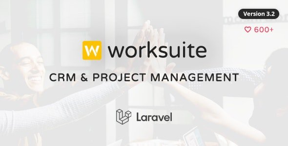 WORKSUITE v3.1.1 - CRM and Project Management Nulled