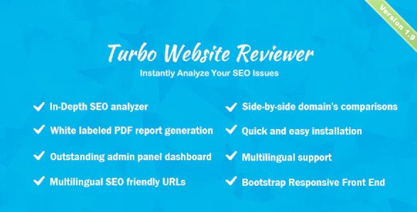 Turbo Website Reviewer - In-depth SEO Analysis Tool v2.1