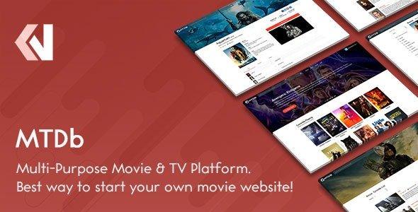 MTDb v3.2.0 - Ultimate Movie & TV Database Nulled
