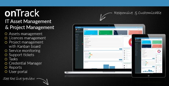 onTrack v1.16 - IT Asset Management & Project Management Nulled