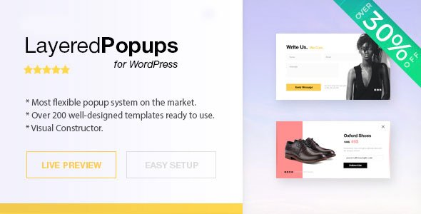 Layered Popups for WordPress v6.60 Nulled