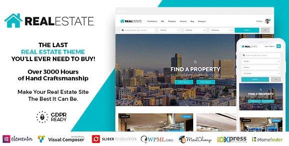 Real Estate 7  v2.9.3 WordPress Nulled