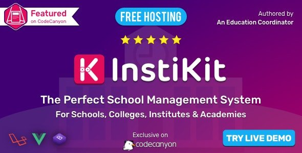 InstiKit School - School ERP for School, College, Institute and Academy v2.3.0 Nulled