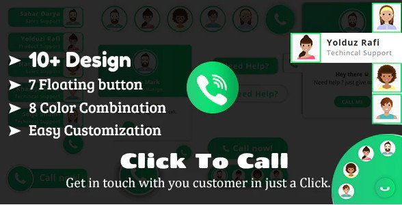 Click To Call - Direct Call From Website HTML Plugin Nulled Free