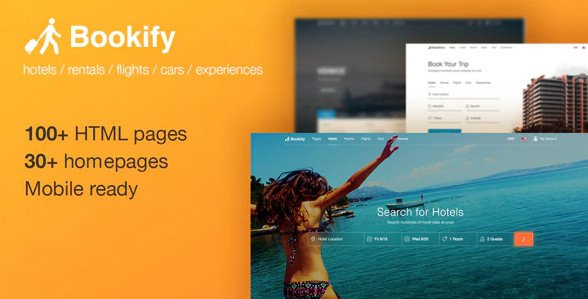 Bookify - HTML Booking Template With Unlimited Possibilities Nulled