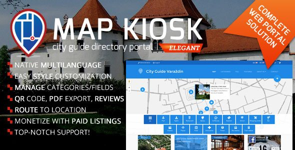 City Guide Directory Portal v1.6.6 Nulled
