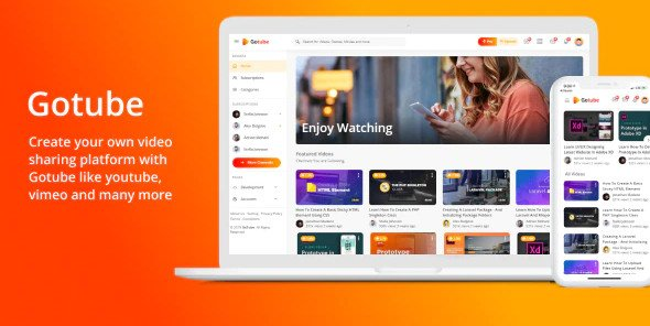 Gotube - A Video Sharing HTML Template RIP (Nulled)