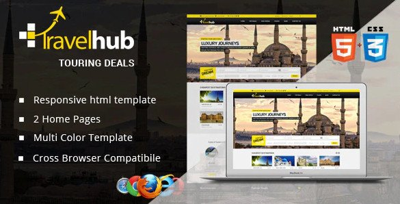 Travel Hub - Touring Packages - HTML Template RIP (Nulled)