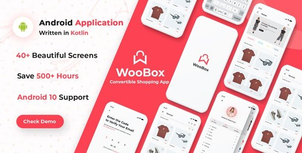 WooBox - Native Android App for WooCommerce Free