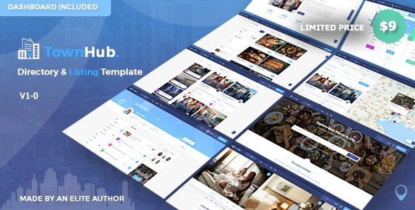 Townhub - Directory Listing Template RIP (Nulled)