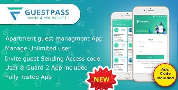 GuestPass - Apartment Guest Managment App Free