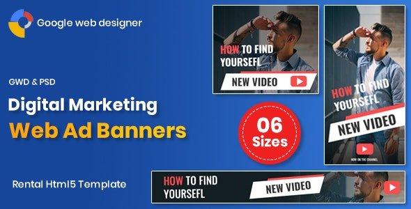 Digital Marketting Banners GWD