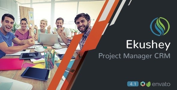 Ekushey Project Manager CRM Nulled