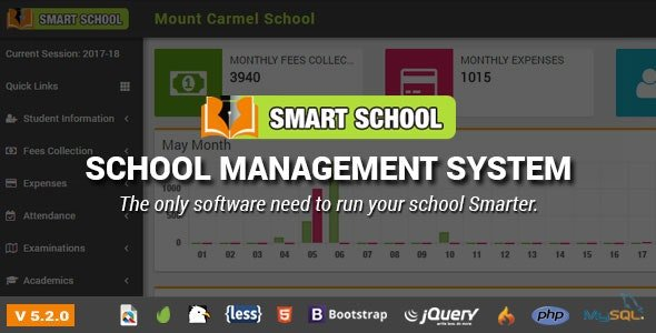 Smart School : School Management System v6.1 nulled