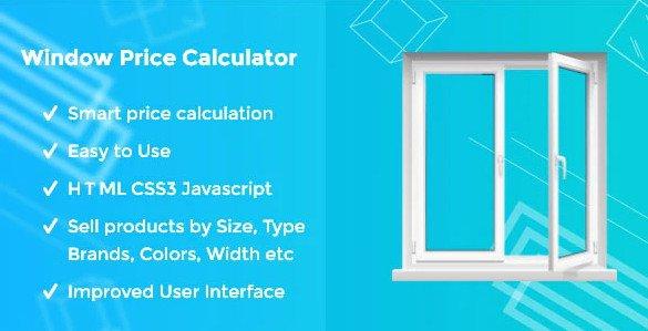 Window Price Calculator HTML JS
