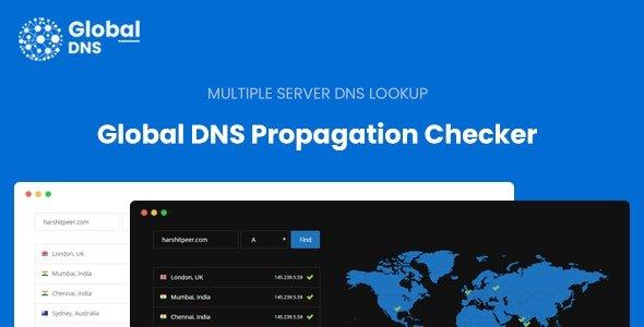 Global DNS - Multiple Server - DNS Propagation Checker Free