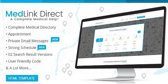 Doctor Directory - HTML Template