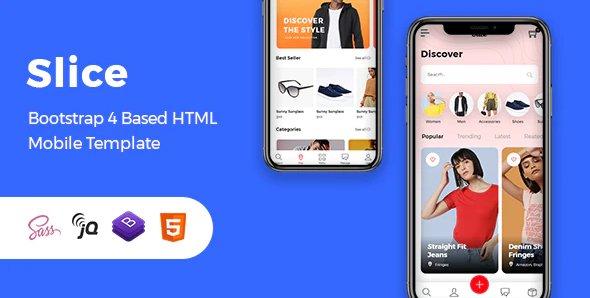 Slice - Mobile eCommerce HTML Template