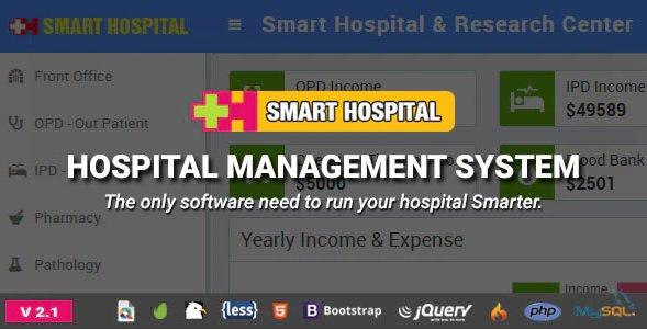 Smart Hospital : Hospital Management System v2.1 Nulled