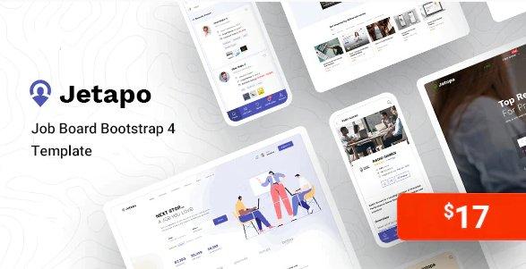 Job Board Bootstrap 4 Template