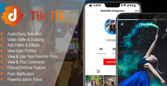 TicTic - Android media app for creating and sharing short videos v2.9.6 Free