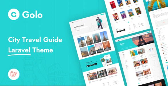 Golo - City Travel Guide Laravel Theme v1.1.3