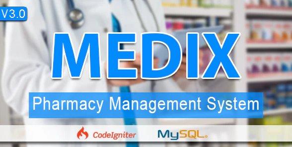Medix - The Pharmacy POS & Management System v3.5