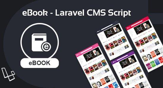 eBook - Laravel CMS Script V2.0.1
