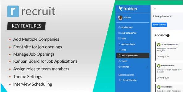 Recruit - Recruitment Manager v3.3.4