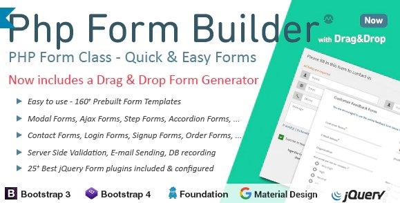 PHP Form Builder v4.5.0 Nulled