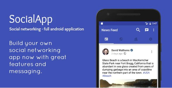 SocialApp - Full Android Application v2.0