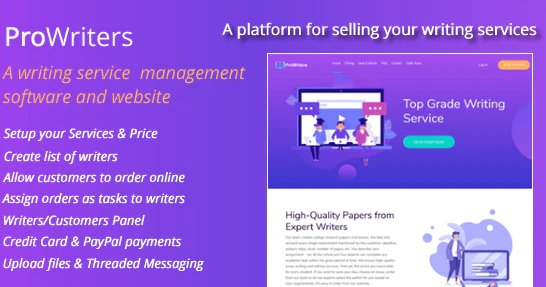 ProWriters - Sell writing services online v1.0