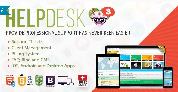 HelpDesk 3 - The professional Support Solution v3.5 Nulled