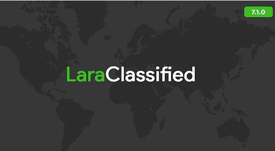 LaraClassified - Classified Ads Web Application v7.1.1