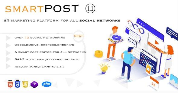 Smart Post - Social Marketing Tool v1.3 Nulled