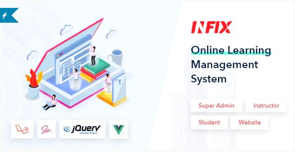 InfixLMS - Open Source Learning Management System VueJs v1.1