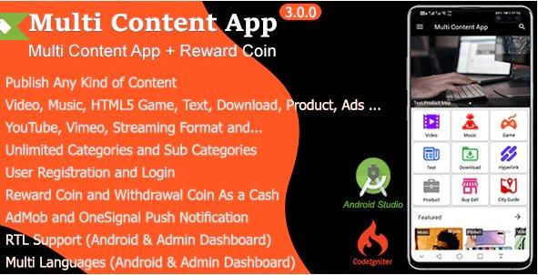 Multi Content App v3.0