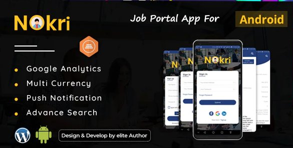 Nokri - Job Board Native Android App v2.2.0