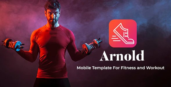 Arnold - Mobile html Template For Fitness