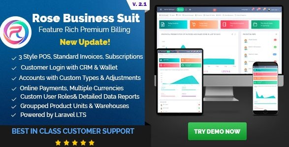 Rose Business Suite - Accounting, CRM and POS Software v2.1