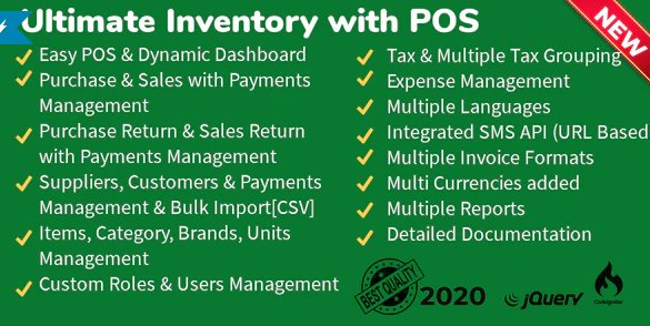 Ultimate Inventory with POS v1.7.1 Nulled