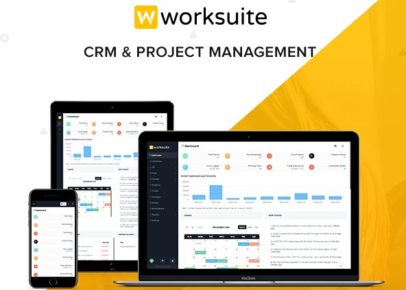 WORKSUITE - HR, CRM and Project Management v3.9.0 Nulled