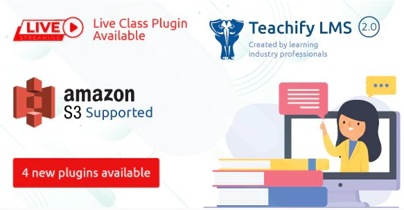 Teachify LMS – Powerful Learning Management System v2.3.0