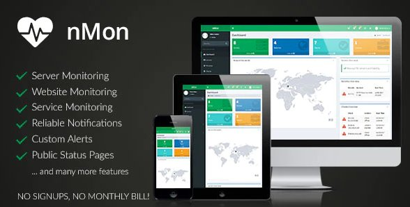 nMon - Website, Service & Server Monitoring v1.9
