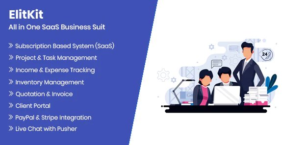 ElitKit - All In One SaaS Business Suit v1.6,1