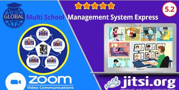 Global - Multi School Management System Express v5.2